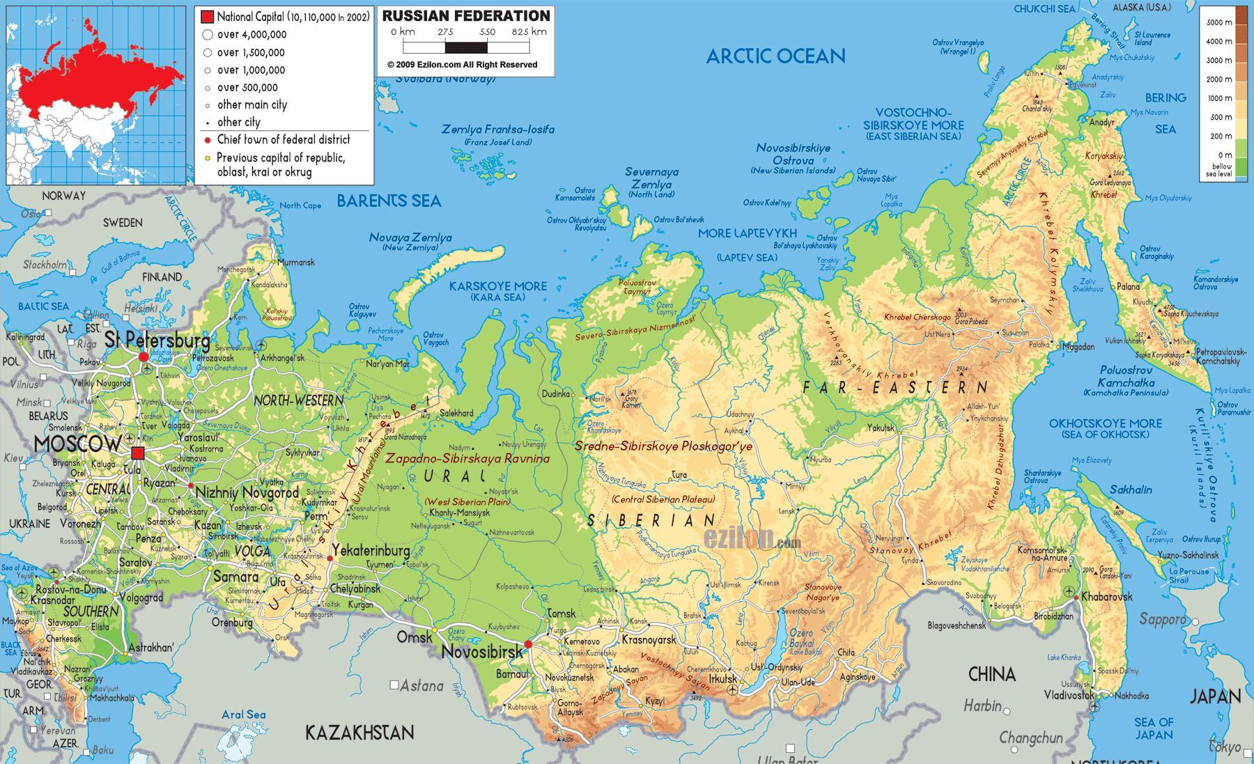 oroszország térkép Moszkva, Oroszország térkép   Oroszország, Moszkva térkép