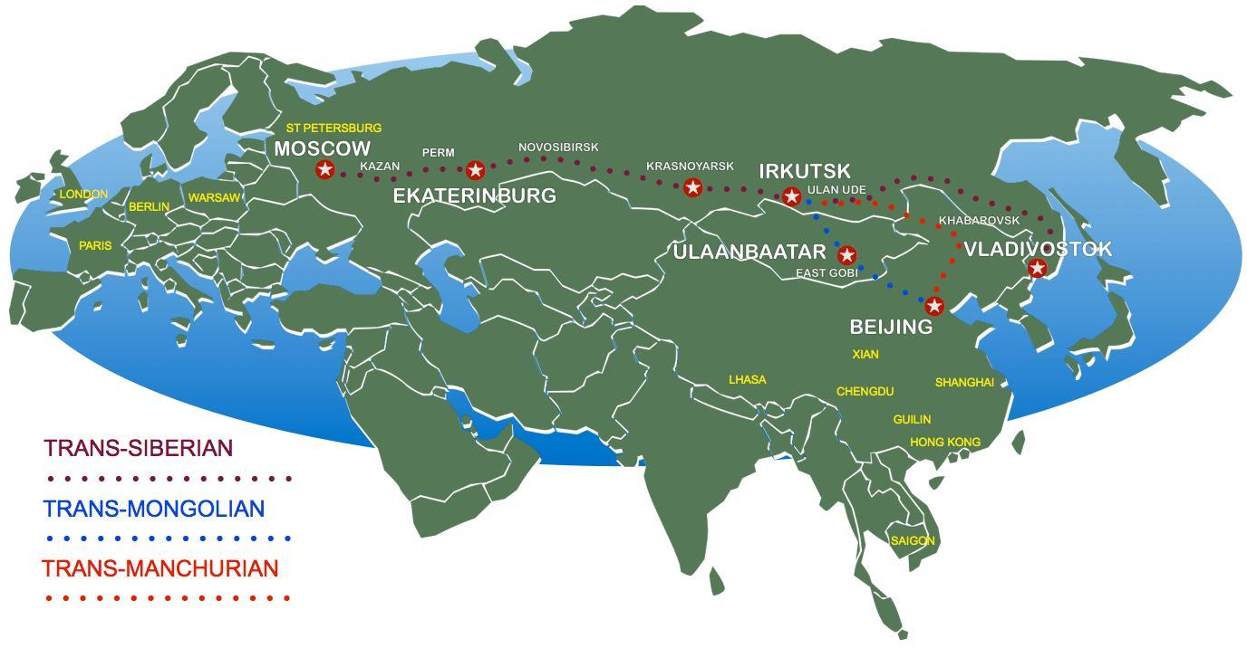 utvonal térkép Moszkva Peking a vonat útvonal térkép   Peking Moszkvába a vonaton  utvonal térkép
