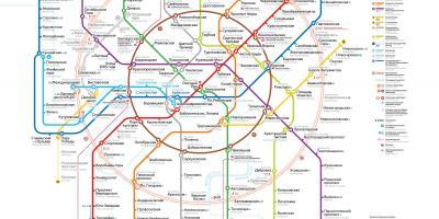Moszkva Terkep Terkep Moszkva Oroszorszag